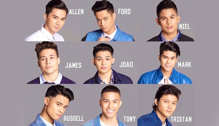 Get to know the favorite boy bands of the Top 9 'Pinoy Boyband Superstar' finalists