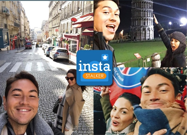 KC Concepcion and Aly Borromeo's romantic European trip