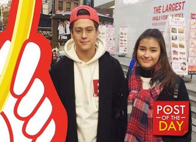 LOOK: Liza Soberano and Enrique Gil enjoy South Korea