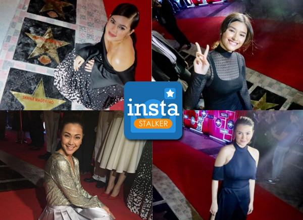 InstaStalker: Liza, Jodi, Angelica, Shaina with their 'Walk of Fame' stars