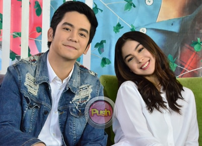 Julia Barretto, Joshua Garcia react to predictions that their movie will be MMFF 2016's top grosser