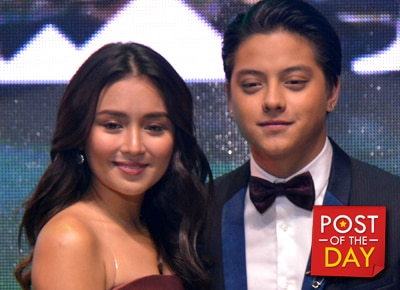 Could Daniel Padilla be sharing the real score between him and Kathryn Bernardo?
