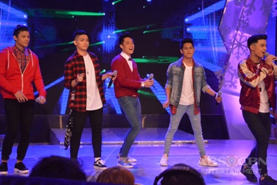 PHOTOS: BoybandPH heartthros Niel, Joao, Russel, Ford and Tristan on GGV