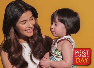 "LOOK: Liza Soberano and Scarlet Snow Belo's ""cutest photo ever"""