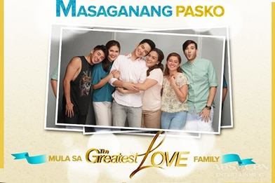 Masaganang Pasko mula sa The Greatest Love Family