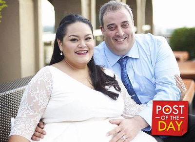 Cai Cortez gives birth to first-born