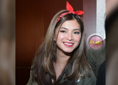 Why is Angel Locsin wearing a wig?