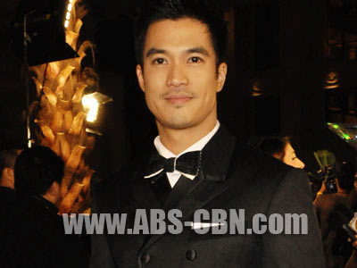 Diether Ocampo doesn't think much about growing old