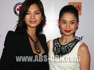 Angel Locsin says she is happy that Anne Curtis and ex-boyfriend Sam Milby are on good terms