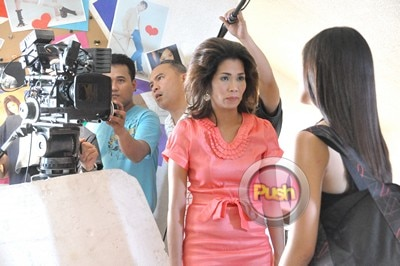 Behind the scenes of Star Magic movie with Kim and Pokwang_00015-303
