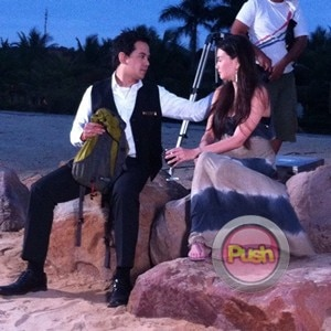 Behind the scenes of Star Magic movie with John Lloyd and Angelica_00004-307