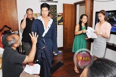 Behind the scenes of Star Magic Movie with Maja and Diether_00006-317