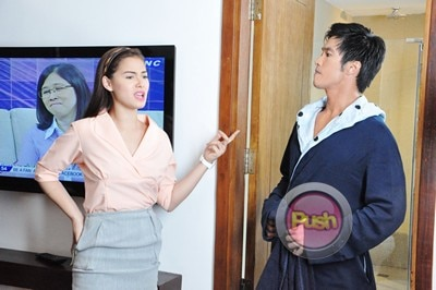 Behind the scenes of Star Magic Movie with Maja and Diether_00008-317
