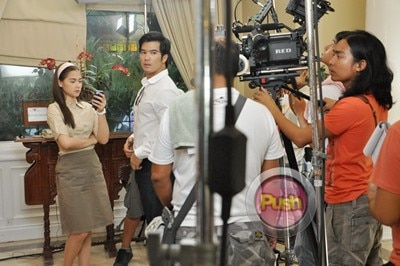 More behind the scenes photos of Star Magic 20th Anniv movie_00003-322