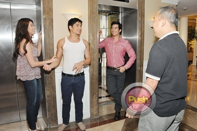 More behind the scenes photos of Star Magic 20th Anniv movie_00009-322