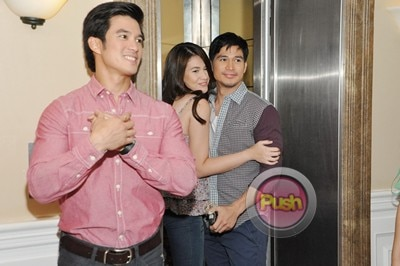 More behind the scenes photos of Star Magic 20th Anniv movie_00013-322