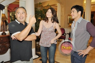 More behind the scenes photos of Star Magic 20th Anniv movie_00019-322