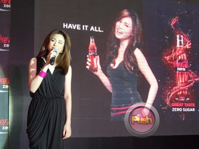 Toni Gonzaga for Coca-Cola Zero