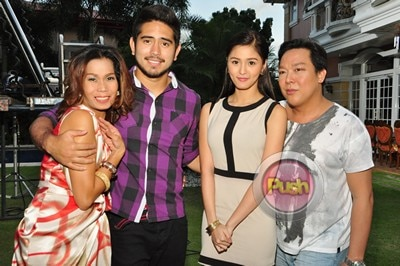 Behind The Scenes of Star Magic movie with Kim, Gerald, Pokwang and Sweet_00007-337