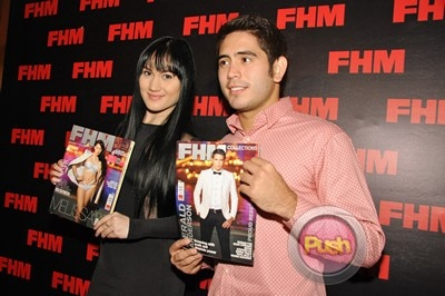 Gerald Anderson and Melissa Ricks pose for FHM Magazine_00011-440