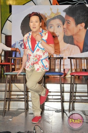 Kahit Konting Pagtingin Grand Press Con at Laffline Comedy Bar_00084-543