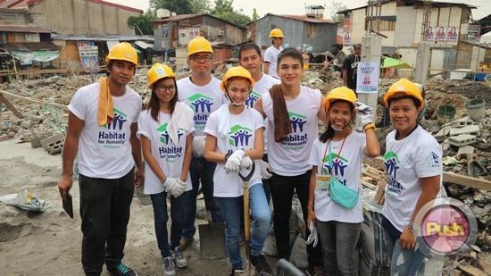 Jodi Sta. Maria celebrates birthday with Habitat for Humanity