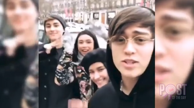 WATCH: LizQuen and MayWard meet in Paris