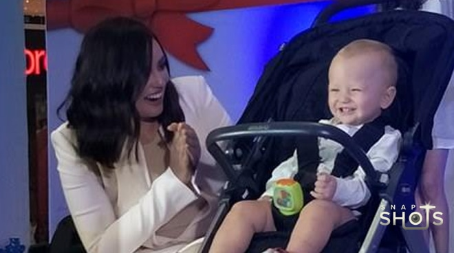 LOOK: 'It girl' Georgina Wilson and her baby Archie at their first endorsement launch
