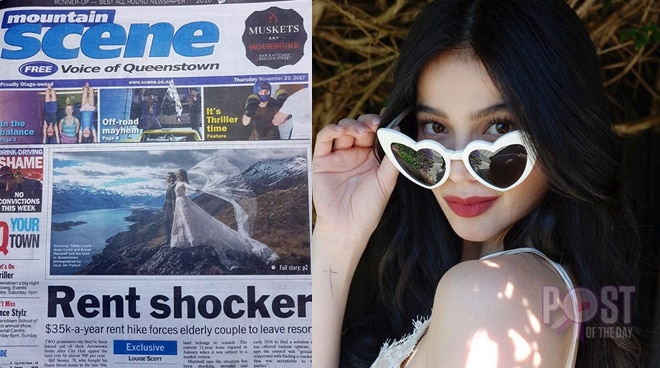Anne Curtis' wedding gets featured in New Zealand's local newspaper