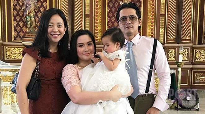 Mariel Rodriguez and Robin Padilla's daughter gets baptized