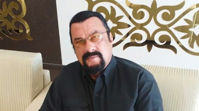 Hollywood action star Steven Seagal starts filming TV series in the Philippines