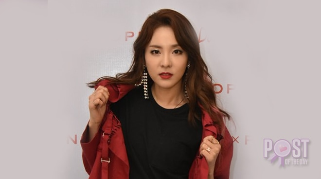"""WATCH: Sandara Park performs """"Fire"""" for the first time since 2NE1 disbandment"""