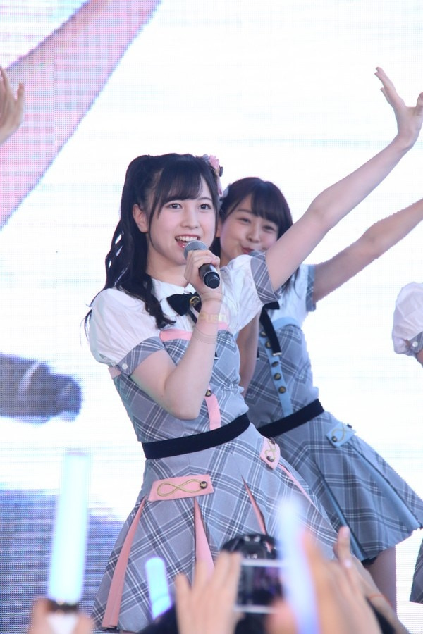 Japanese girl group AKB48 performed at the last leg of MNL48 auditions in the Philippines.
