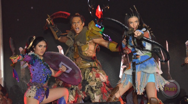"""ABS-CBN writer engage in a Twitter spat over LizQuen's teleserye """"Bagani"""""""