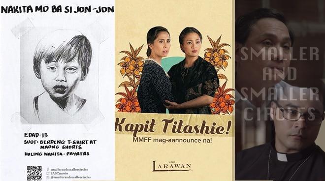 Libro noon, Pelikula na ngayon: mga obrang pampanitikan na ginawang pelikula ngayong taon