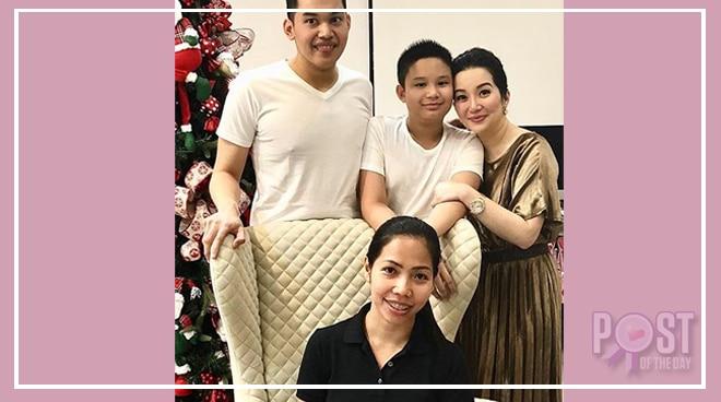 Kris Aquino gives tribute to her helper Bincai
