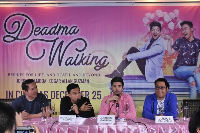 Joross & Edgar Allan are set to tickle people's funny bones this Christmas with 'Deadma Walking.'