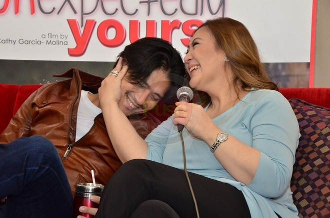 Robin and Sharon revealed that they almost got married back then during their digicon on Monday.