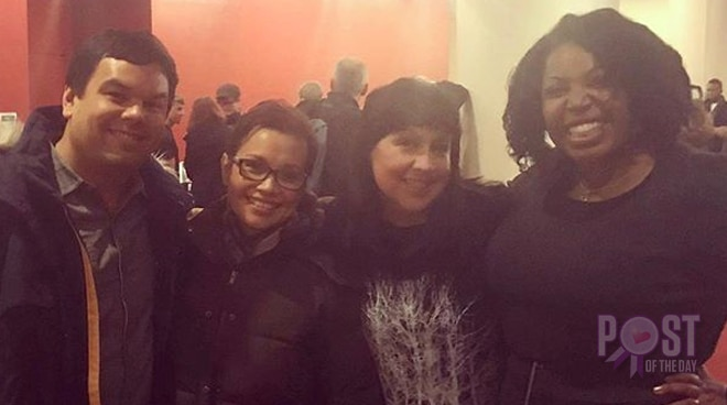 LOOK: Lea Salonga with 'Let It Go' Fil-Am composer Robert Lopez and wife Kristen