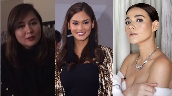 Bea Alonzo and Angelene Aguilar's sweet messages to Pia Wurtzbach