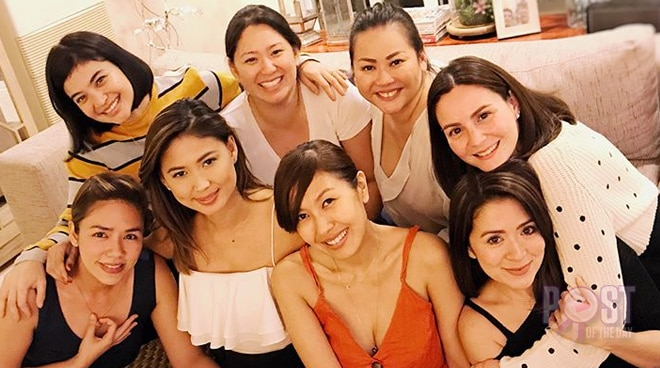 LOOK: Anne Curtis, Antoinette Taus, Cheska Garcia, and Danica Sotto's Christmas party