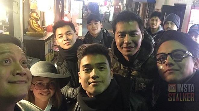 Daniel Padilla's all boys trip with Zanjoe Marudo, Patrick Sugui, Dominic Roque and Marco Gumabao in Tokyo