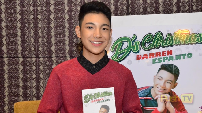 Darren Espanto says nothing could match Christmas in the Philippines