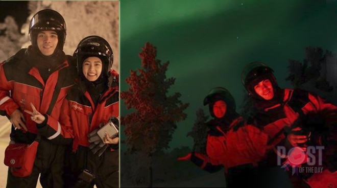Kim Chiu and Xian Lim's breathtaking northern lights experience