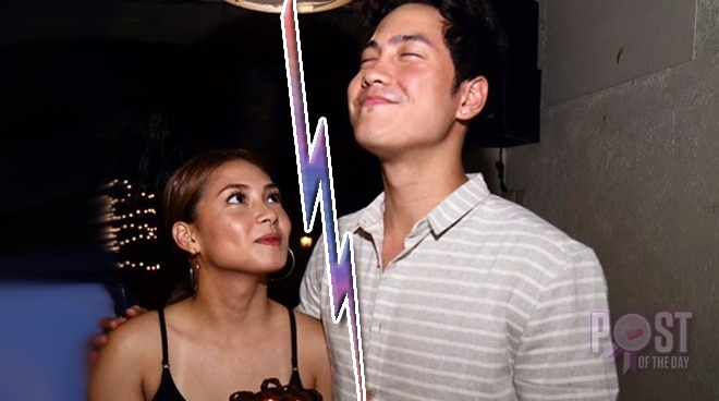 Have Erin Ocampo and Axel Torres called it quits?