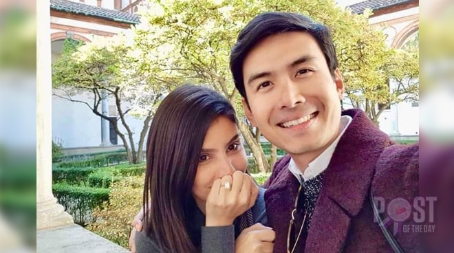 LOOK: Christian Bautista gets engaged to his non-showbiz girlfriend