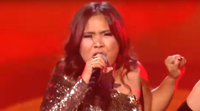 Alisah Bonaobra performs J. Lo's