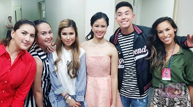 LOOK: Nene Tamayo and Say Alonzo of PBB season 1 support Kisses Delavin's album launching