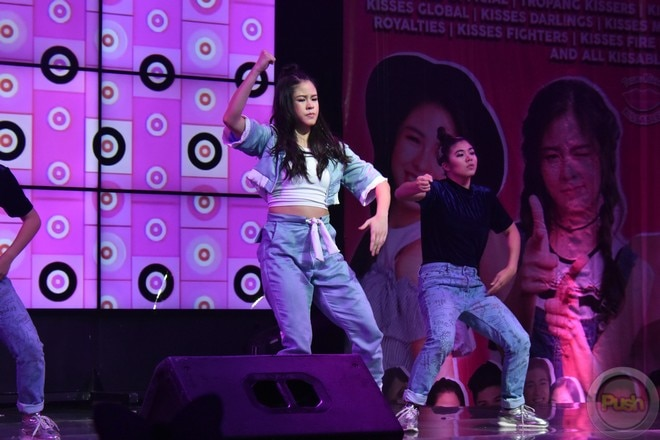 Kisses Delavin had a successful launch of her self-titled album at the SM Skydome on November 6.