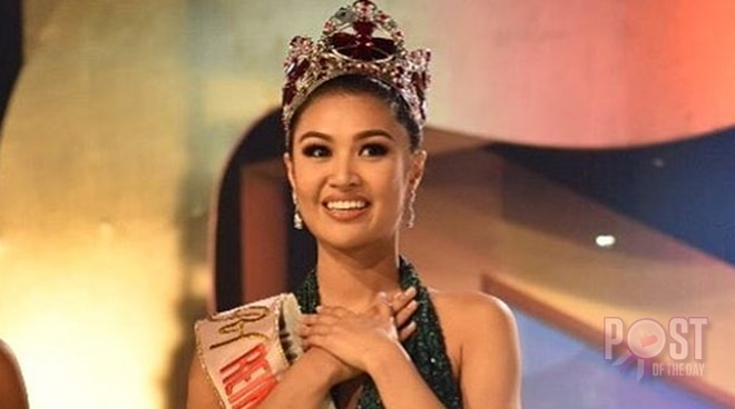Winwyn Marquez thanks supporters after winning Reina Hispanoamerica crown